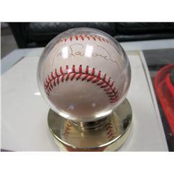 Tom Lasorda Signed Baseball