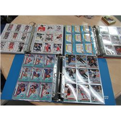 3 albums full of 90's Hockey Cards
