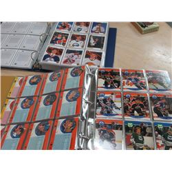 2 Albums of 90's Hockey Cards
