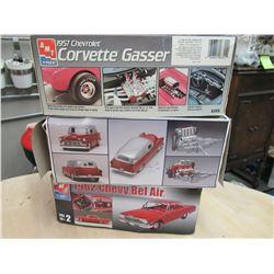 3 Car Model Kits