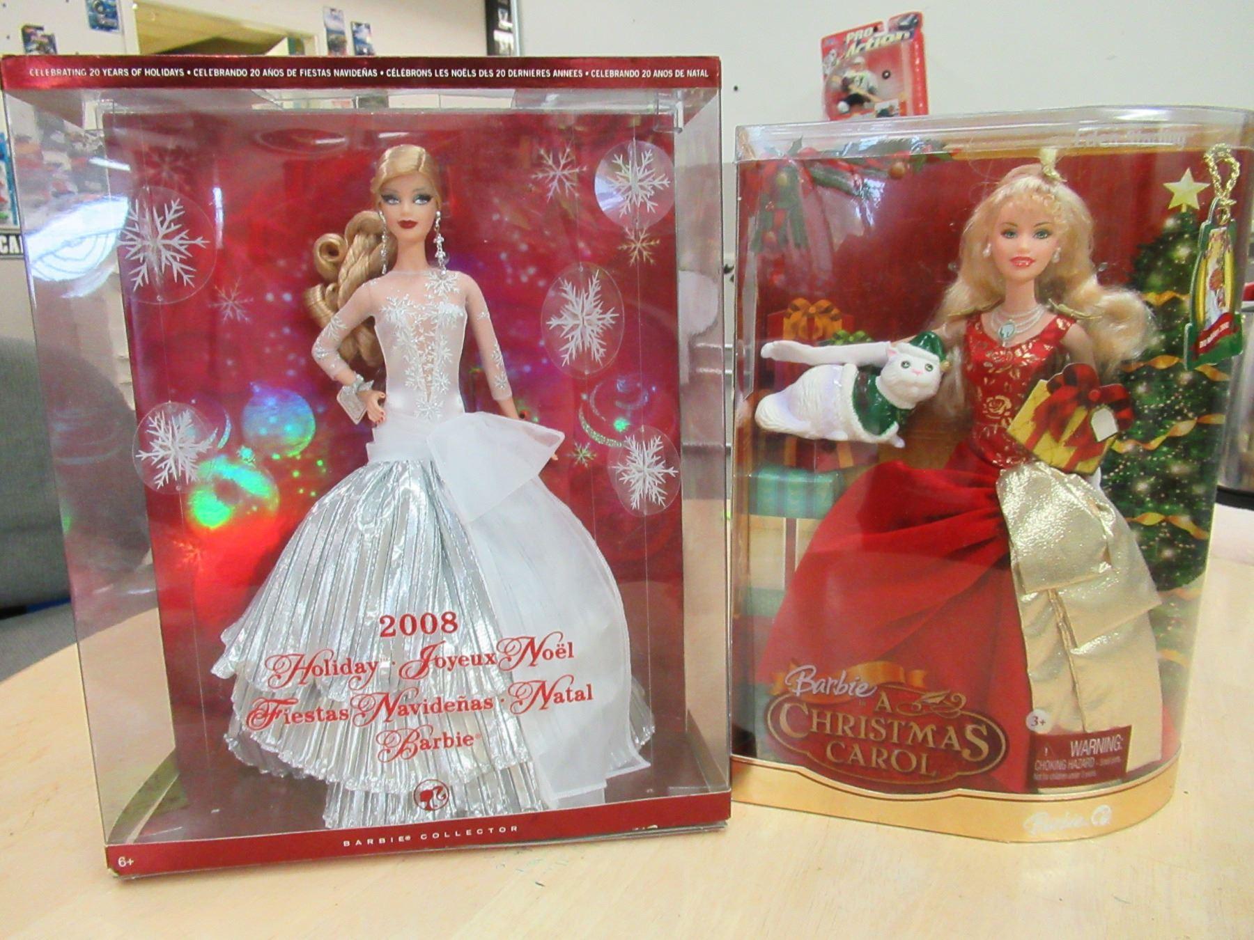 2008 Barbie In A Christmas Carol 2008 Holiday Barbie