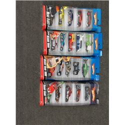 4 Hot Wheels 2009 5 Packs