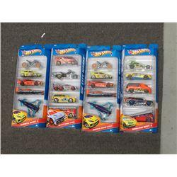 4 Hot Wheels 2011 5 Packs