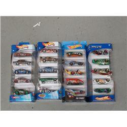 4 Hot Wheels 5 packs