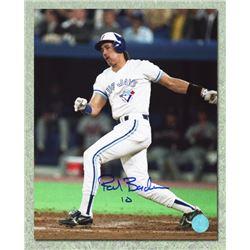 de1ac6ea576 Pat Borders Toronto Blue Jays Autographed World Series Batting 8x10 Photo (AJ  SPORTS)