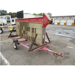 Portable sign trailer