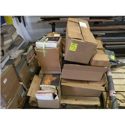 Pallet of shop manuals