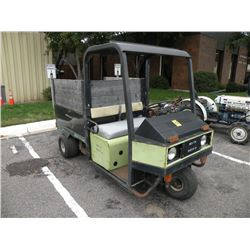 Cushman 3 wheel utility vehicle