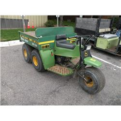 John Deere AMT600 5 wheel utility vehicle-DOESN'T RUN