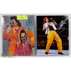 WWE SUPERSTARS JIMMY HART & THE GOD FATHER SIGNED