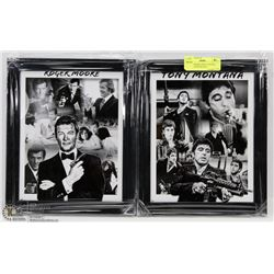 ROGER MOORE AND AL PACINO LIMITED EDITION 8X10
