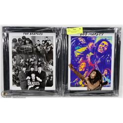 BOB MARLEY & THE BEATLES LIMITED EDITION 8X10