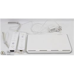2 WII CONTROLLERS AND CHARGING STATIONS WITH