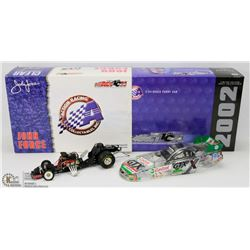 38) JOHN FORCE ACTION DIE CAST 2002 MUSTANG CLEAR