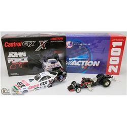 27) JOHN FORCE ACTION DIE CAST 2001 MUSTANG
