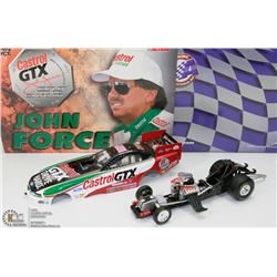 35) JOHN FORCE ACTION DIE CAST 1999 MUSTANG 8 TIME
