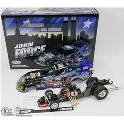 19) JOHN FORCE ACTION DIE CAST 2011 MUSTANG