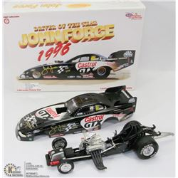 40) JOHN FORCE ACTION DIE CAST 1997 MUSTANG DRIVER