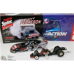 30) TONY PEDEGRON ACTION DIE CAST 2001 MUSTANG