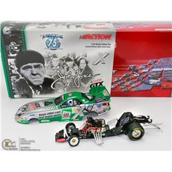 22) JOHN FORCE ACTION DIE CAST 2003 -3 STOOGES CAR