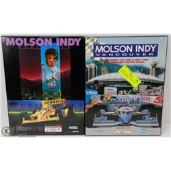 87) 1994-1995 MOLSON INDY RARE PLAQUE , SLIGHT