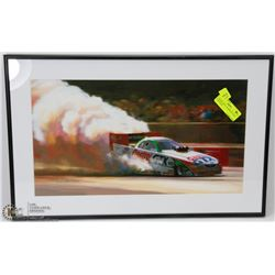 76)JOHN FORCE  FRAMED PICTURE VERY RARE