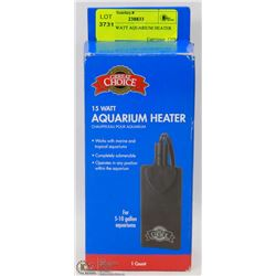 NEW 15 WATT AQUARIUM HEATER