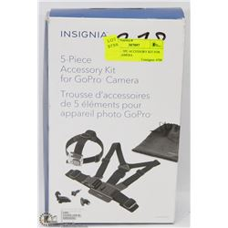 INSIGNIA  5PC ACCESSORY KIT FOR GO PRO CAMERA