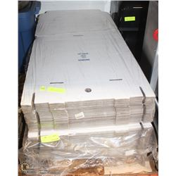 2 PACKS OF LARGE PIZZA BOXES