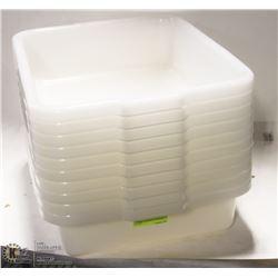 TOTE BOX - LOT OF 10 - NATURAL COLOUR