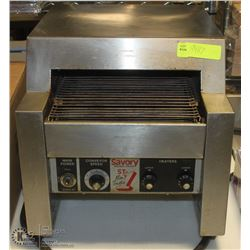 COMMERCIAL SAVORY CONVEYOR TOASTER