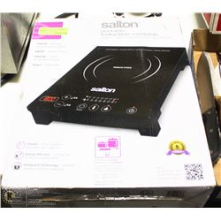SALTON BLACK PORTABLE INDUCTION COOKTOP