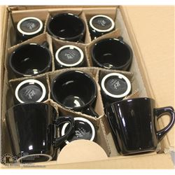NEW BLACK 7OZ CUP (CASE OF 36)