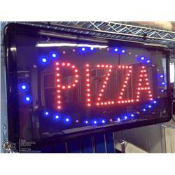 "19"" X 10"" LED PIZZA SIGN"