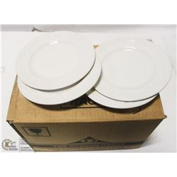 """NEW DUDSON 6 1/2"""" WHITE SIDE PLATES (CASE OF 35)"""