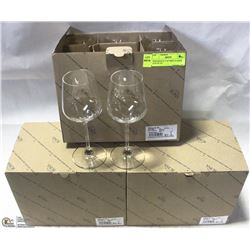 NEW RONA 8.75 OZ WINE GLASSES (LOT OF 18 )