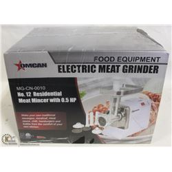 OMCAN MEAT GRINDER NEW