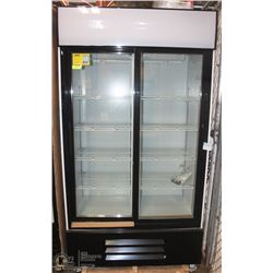 NEW 1000L UPRIGHT SLIDING GLASS DOOR COOLER
