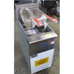 NEW ICB NATURAL GAS FRYER 3 TUBES