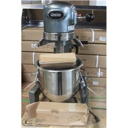 10 QT. GEAR DRIVEN COMMERCIAL MIXER  NEW