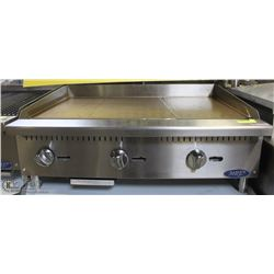 ME#01, MRE) HEAVY DUTY COUNTER TOP GRIDDLE ,