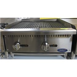 ME#02, MRE) HEAVY DUTY COUNTER TOP RADIANT BROILER