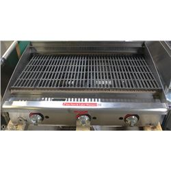 NEW STAR MAX 36  CHARBROILER LP OR NAT GAS