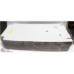 ME#20) LOT OF 50 PIZZA BOXES 10""
