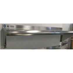 "12"" X 36"" STAINLESS STEEL WALL SHELF"