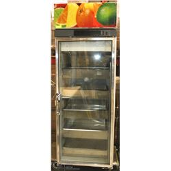 GLASS DOOR REVO COOLER WITH 5 STAINLESS STEEL