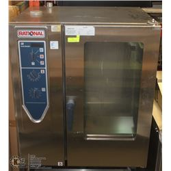RATIONAL COMBI STEAM AND CONVECTION OVEN ON STAND