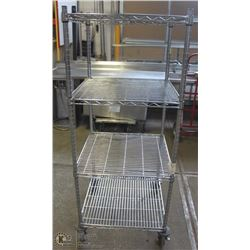 STAINLESS STEEL COMMERCIAL WIRE SHELF
