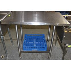 2FT X 4 FT STAINLESS STEEL COMMERCIAL TABLE