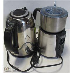BREVILLE MILK CAFE & S/S KETTLE